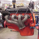 Left Side Exhaust manifold