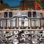Intake Ports and Pushrod Guides