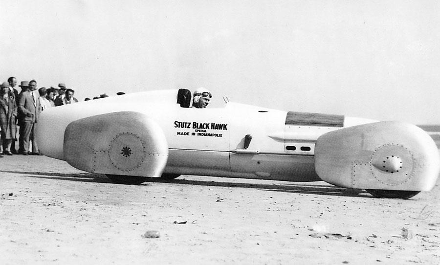 Frank Lockhart's Blackhawk  LSR car