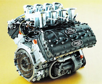 Ford Cosworth DFV engine