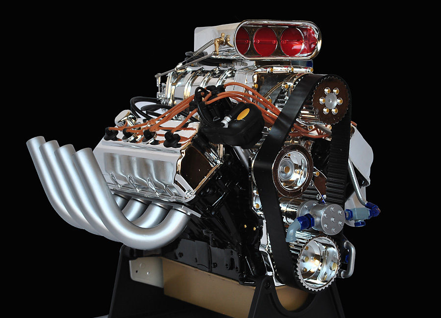 Hot rod engine tech summit racing 16 scale top fuel hemi racing hemi engine hemi engine sciox Choice Image