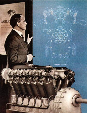 Packard engine designer