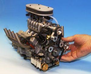 Supercharged Stinger engine
