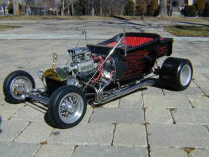Stinger engine in T-bucket