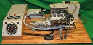 Stinger engine test stand