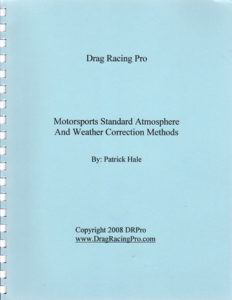Motorsports Weather Correction handbook