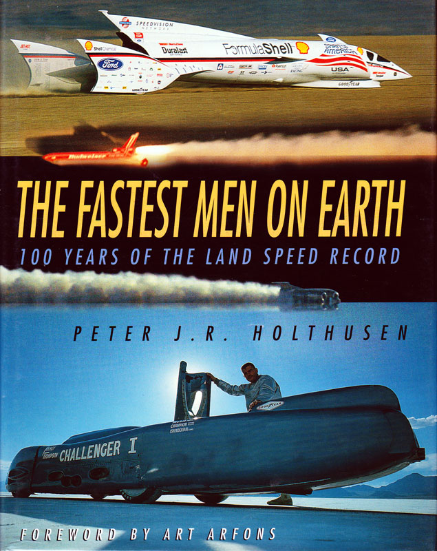 Fastest Men on Earth book cover