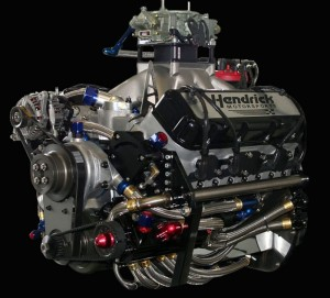 Hendricks Sprint Cup racing engine