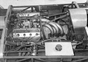 Blown Hemi engine