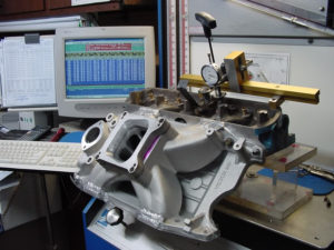 Chrysler SS intake flow bench analysis