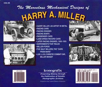 Miller racing engines
