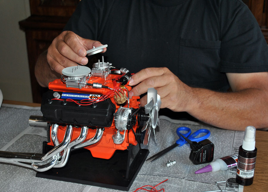 Model Hemi Lead on Dodge Ram Engine Block