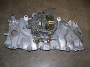 Corvette intake manifold