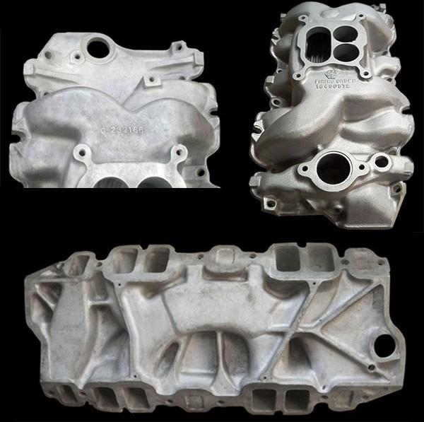 Mark II intake manifold