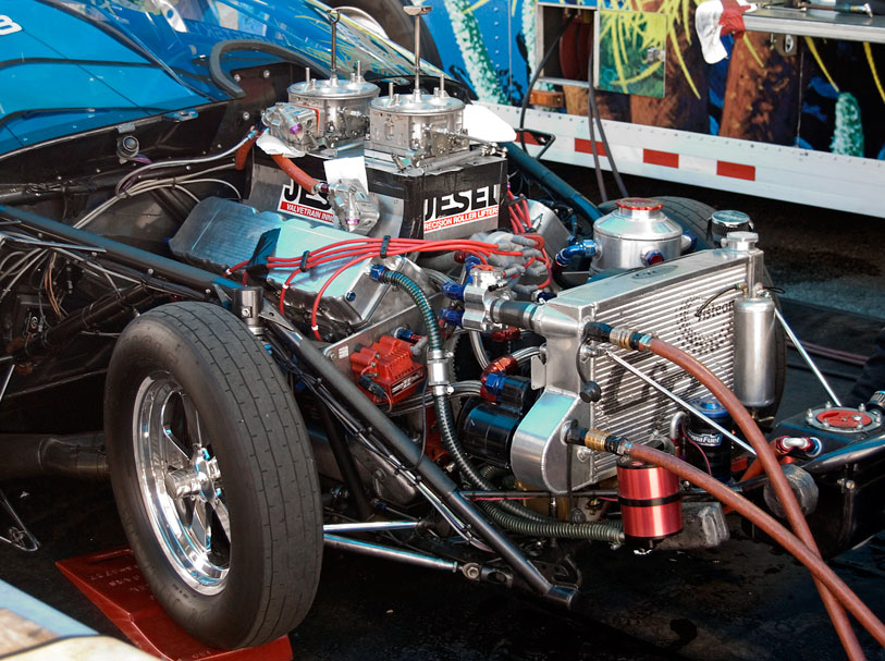 pro stock engine