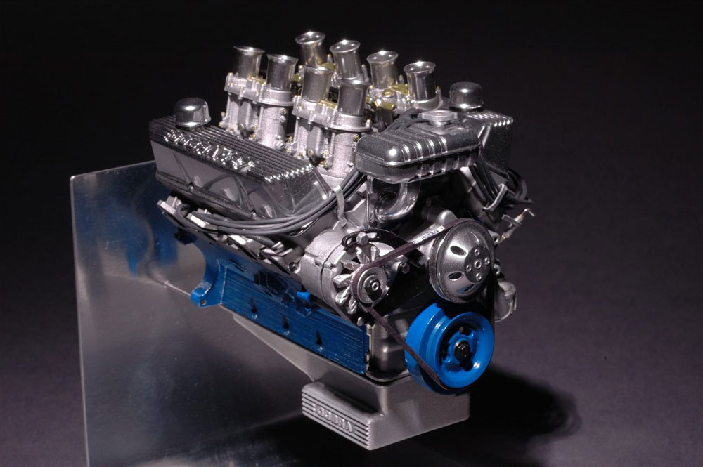 1 8 Scale Ford 427 Sideoiler Hot Rod Engine Tech