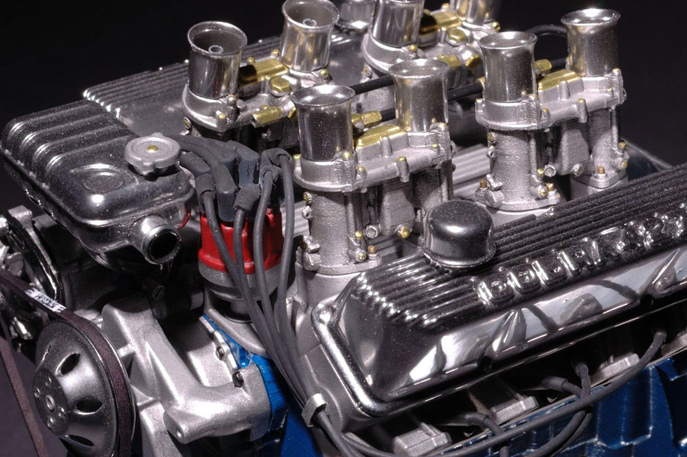 Fe on Ford 427 Fuel Injected Crate Engine