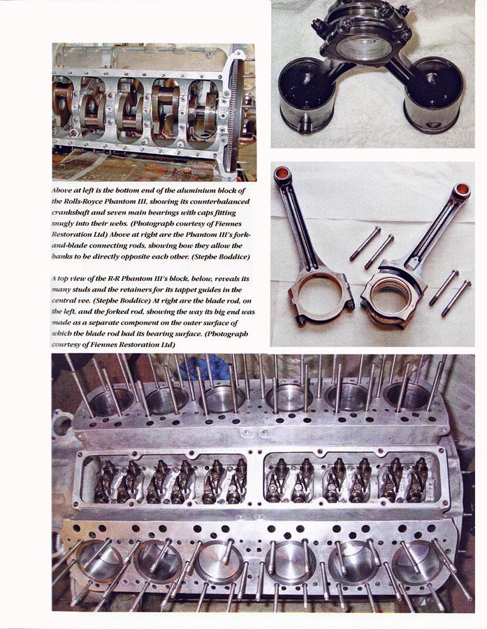 Rr Phantom on V Engine Connecting Rod Fork