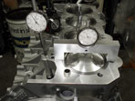 Lifter extension and long spindle dial indicator