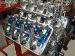 Arias hemispherical head valve train