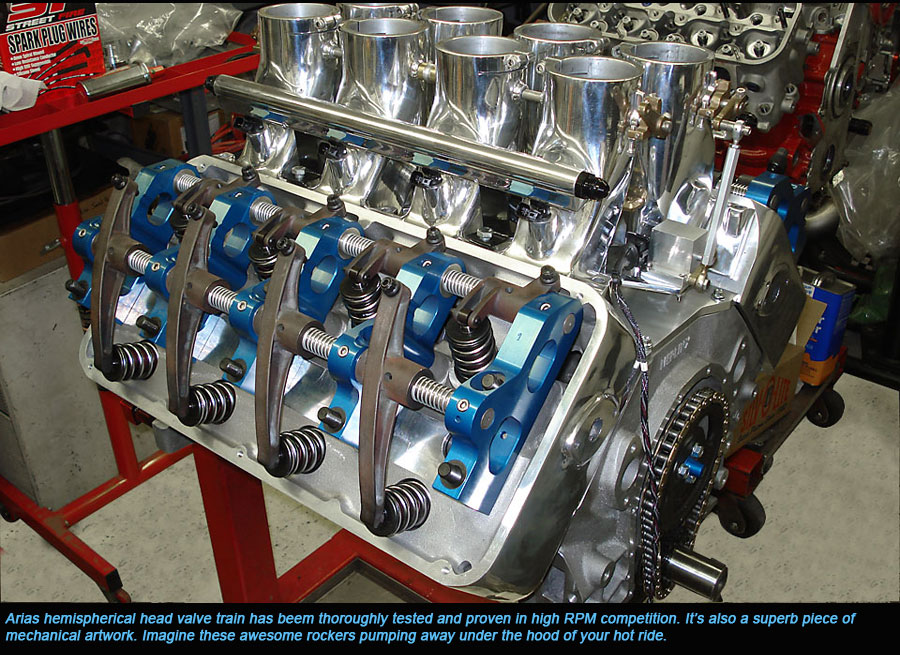 Hot Rod Engine Tech Hemi Head Chevy Big Blocks - Hot Rod
