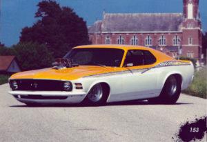 Bret Voelkel's '70 Mustang