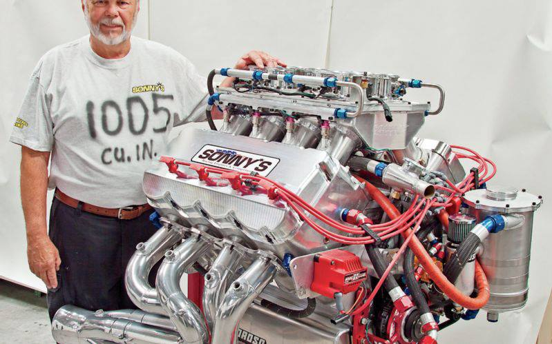 Sonny S 1 005ci Billet V8 Cranks 2150 Hp Hot Rod Engine Tech