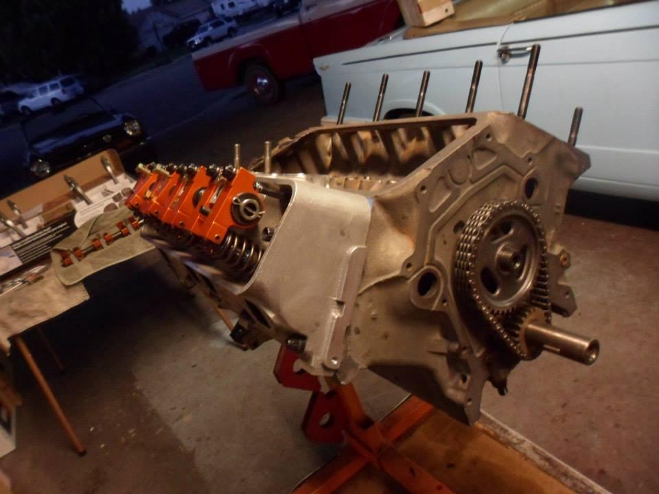 Hot Rod Engine Tech 304ci Y-block, 147 MPH   '62 Ford Pickup