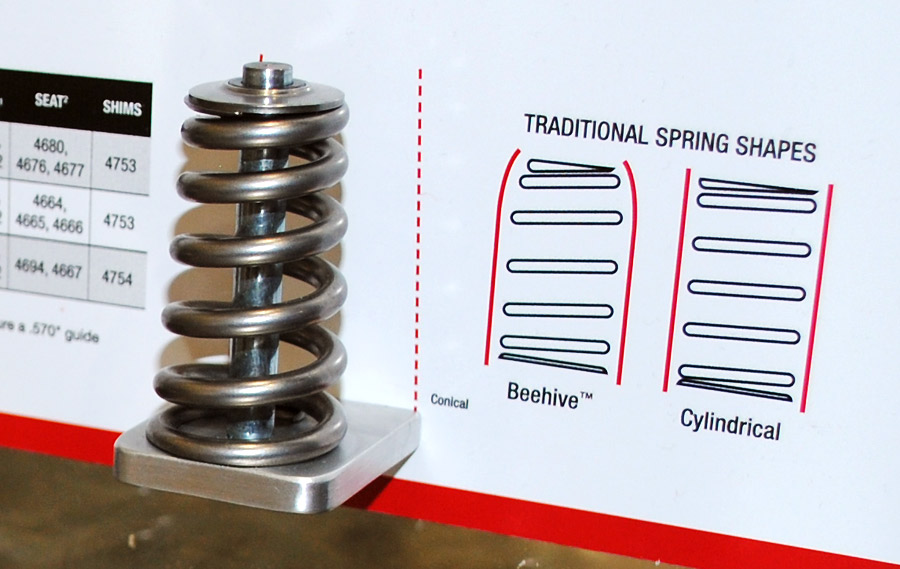 com conical springs