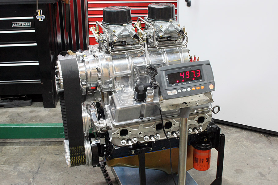 Hot Rod Engine Tech 622 HP Blown Street Small Block - Hot