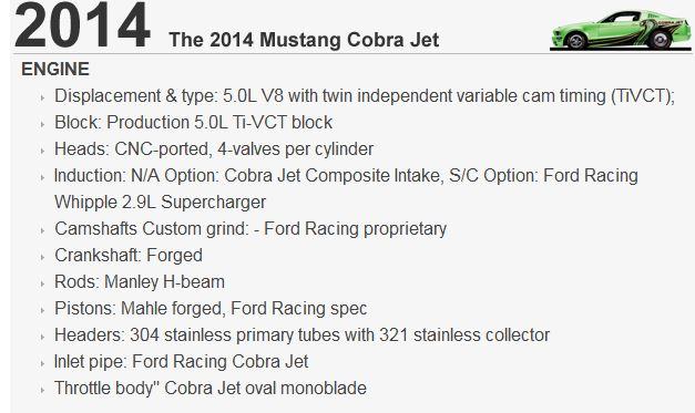 ford cobra jet