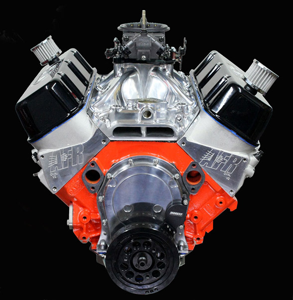 Hot Rod Engine Tech 540ci All Motor Pump Gas Brute - Hot Rod