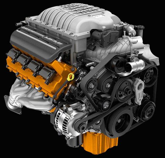 2015 Dodge Challenger SRT Hellcat Boasts 707 HP