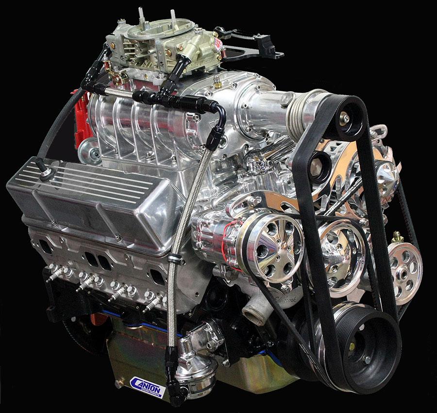 Hot Rod Engine Tech Blown Hi-Torque E85 Chevy Small Block