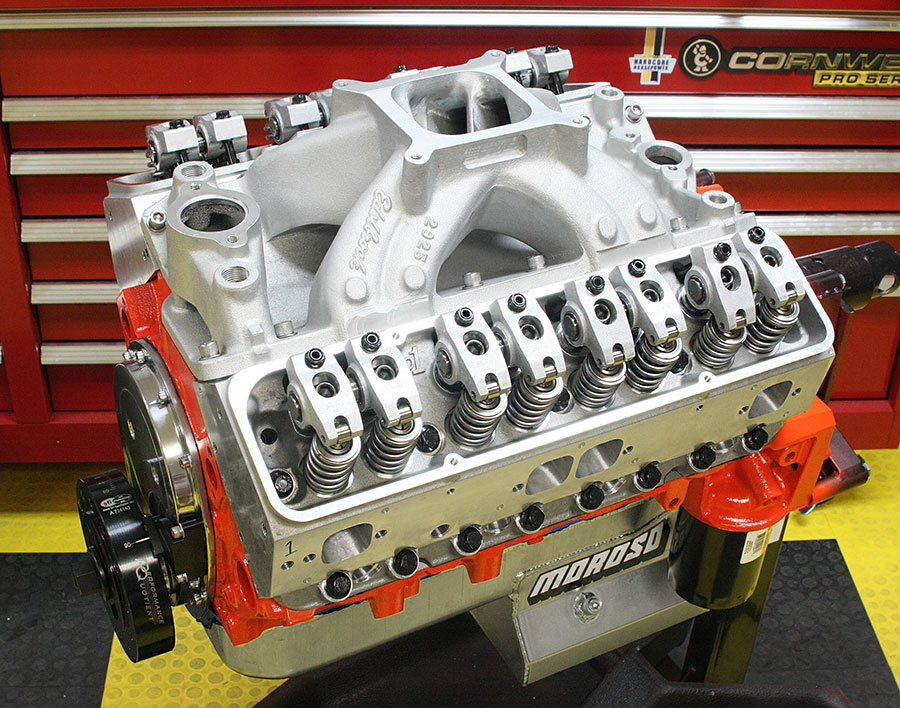 Hot Rod Engine Tech 663hp 434ci Small-Block Street Engine - Hot Rod