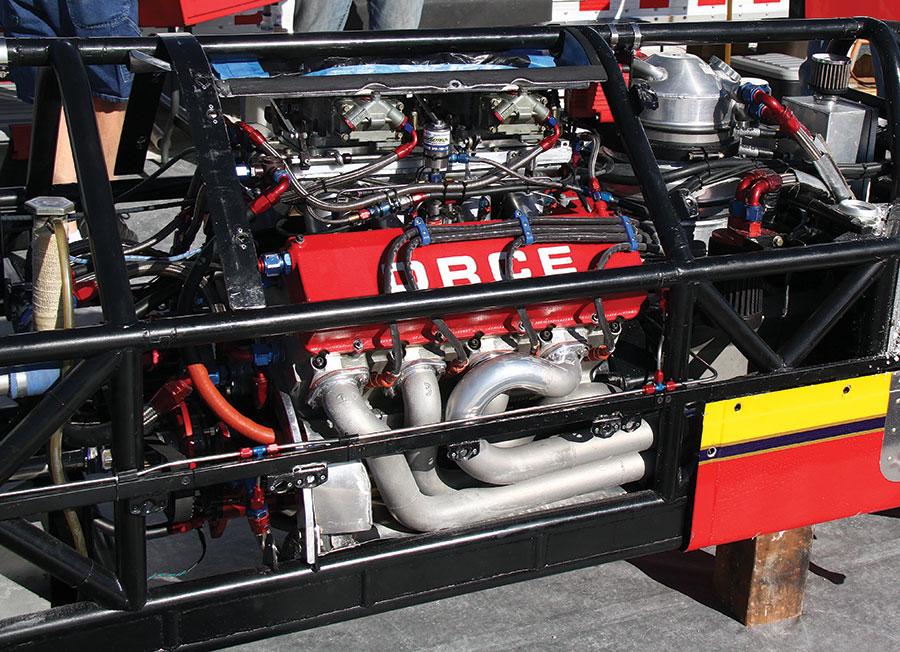 DRCE nitrous engine