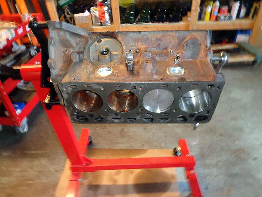 Hot Rod Engine Tech Turbocharged Y-Block for Bonneville