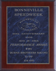 Bonneville-Performance-Award