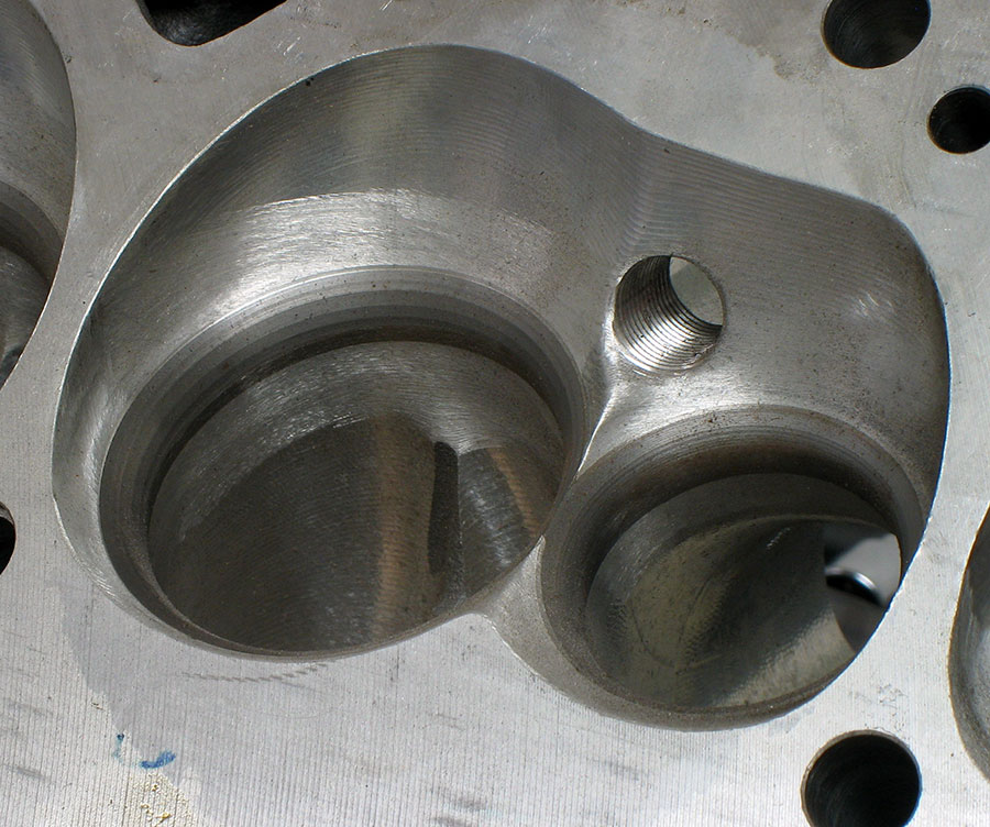 valve throat area
