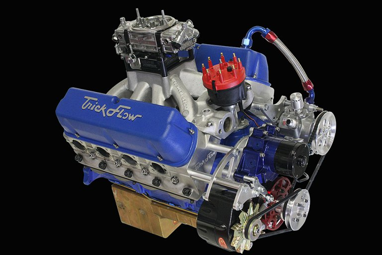 A 735hp 438ci Small Block Ford Bullet