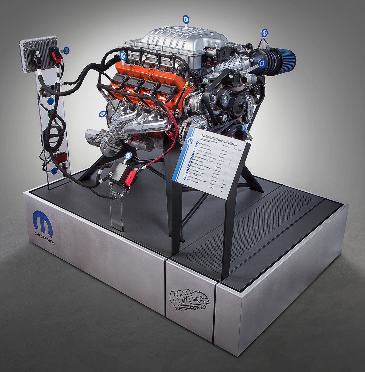 6.2L Hemi crate engine