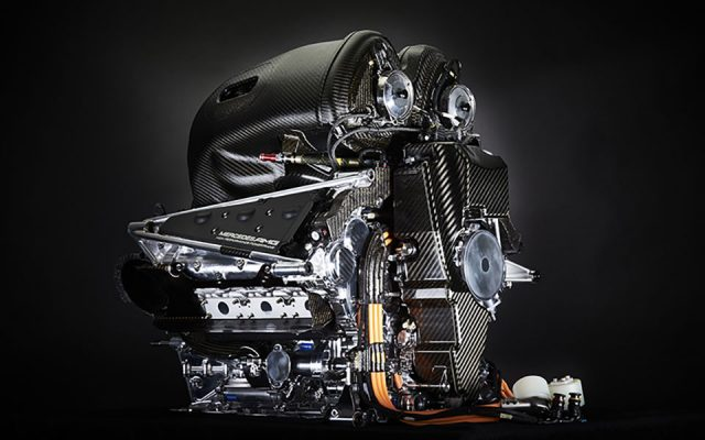 Mercedes F1 engine