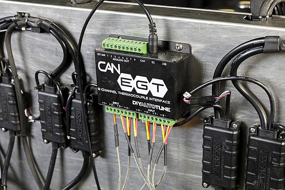 EGT sensors