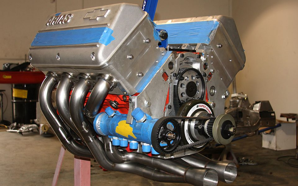 arias LSX hemi engine