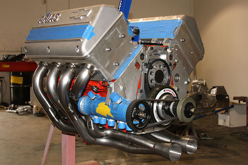 Beast Mode: 2000 HP LSX Based Arias Hemi
